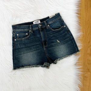 NWT Victoria Secret Pink   High Waist Denim Shorts